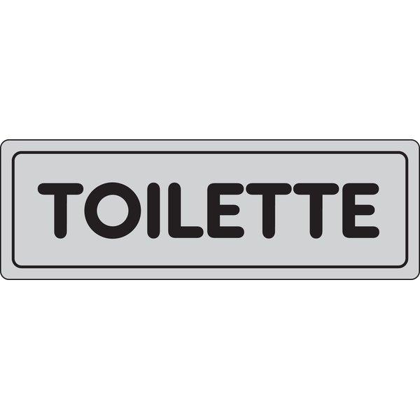 Cartelli segnaletici adesivi pubblicentro toilette 15909630adb0150x0050 sicurezza e - Toilette da bagno ...