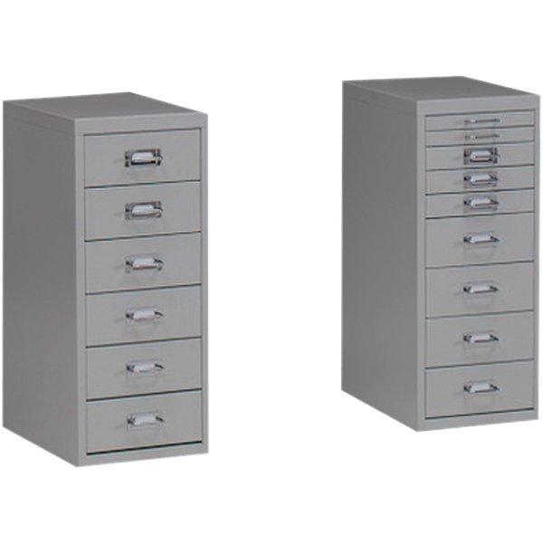 Cassettiere metalliche tdm media 9 cassetti grigio - Cassettiere ufficio ...