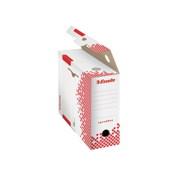 Scatole archivio Speedbox Esselte dorso10 - 10x25x35 cm - 623908 (conf. 25)