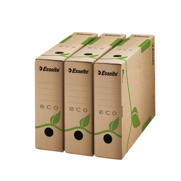 Scatole archivio Box Eco Esselte dorso10 - 10x23,3x32,7 cm - 623917 (conf.25)