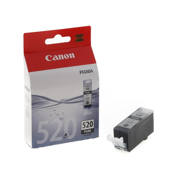 Originale Canon 2932B011 Serbatoio inchiostro blister security Chromalife 100+ PGI-520 BK nero