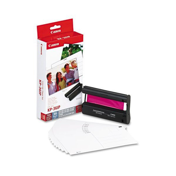 Originale Canon 7737A001 Kit TTR + carta foto KP-36IP colore