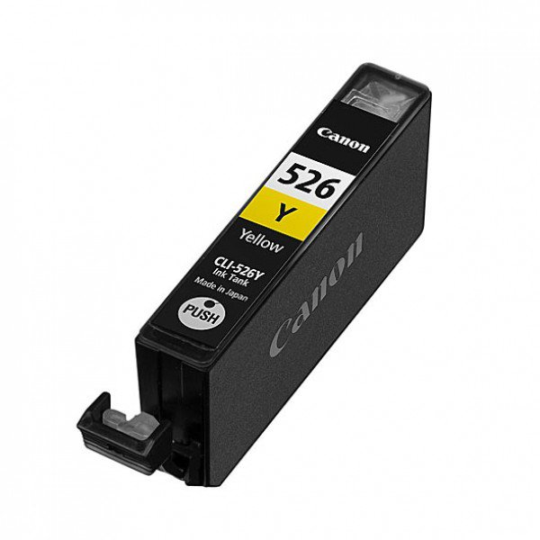 Originale Canon 4543B006 Serbatoio inchiostro blister security Chromalife 100+ CLI-526Y giallo