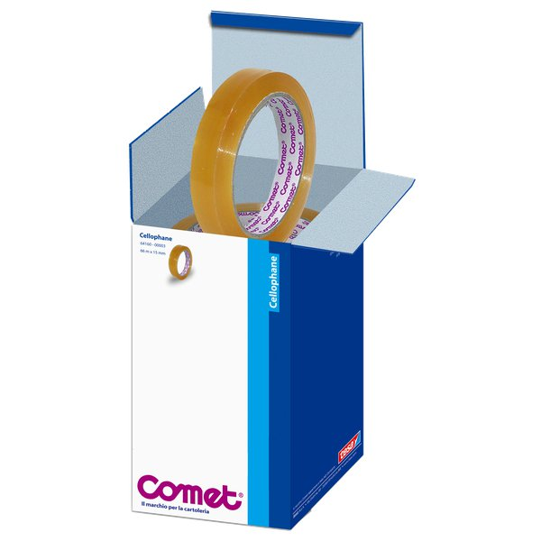 Comet Cellophane - Torre - 15 mm x 66 m - 64160-00003-01 (conf.10)