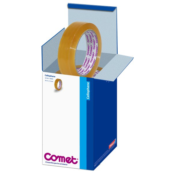 Comet Cellophane - Torre - 19 mm x 66 m - 64160-00004-01 (conf.8)