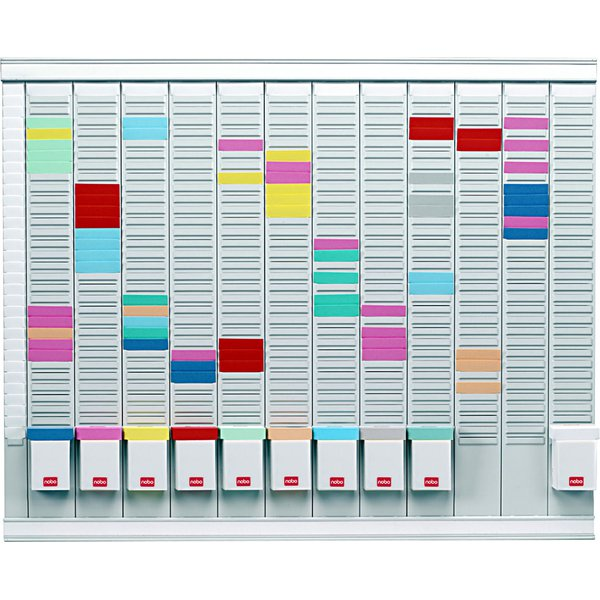 Professional Planner con schede a T Nobo - 66x80 cm - 32938864