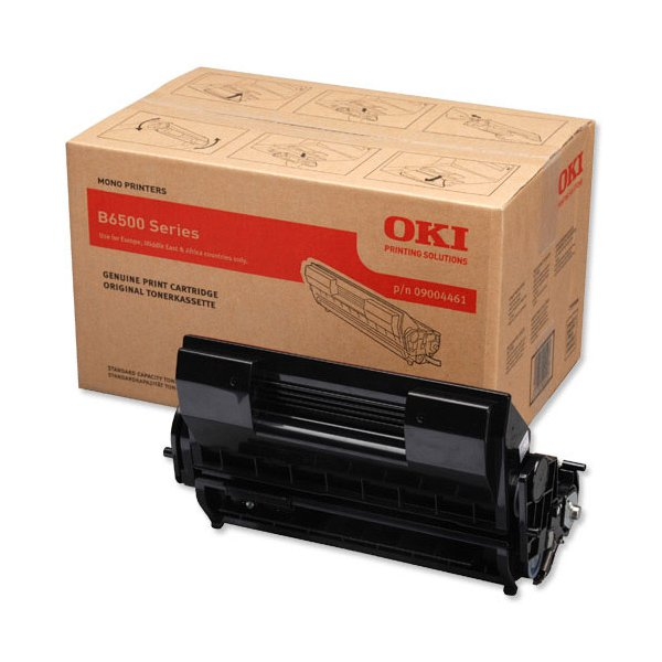 Originale Oki 09004461 Toner B6500 SERIES nero