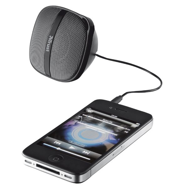Rocca Portable Speaker for iPhone & smartphones Trust - nero/grigio - 18038