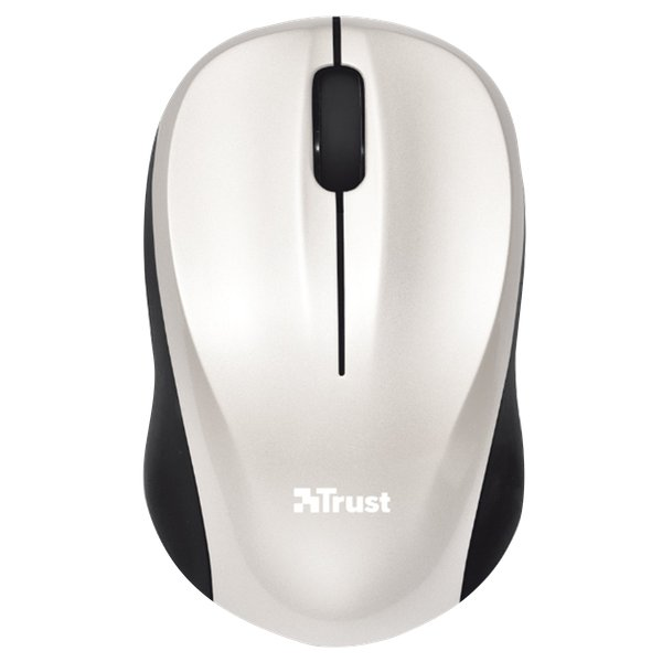 Mouse Wireless Mini VIVY Trust - bianco - 18476