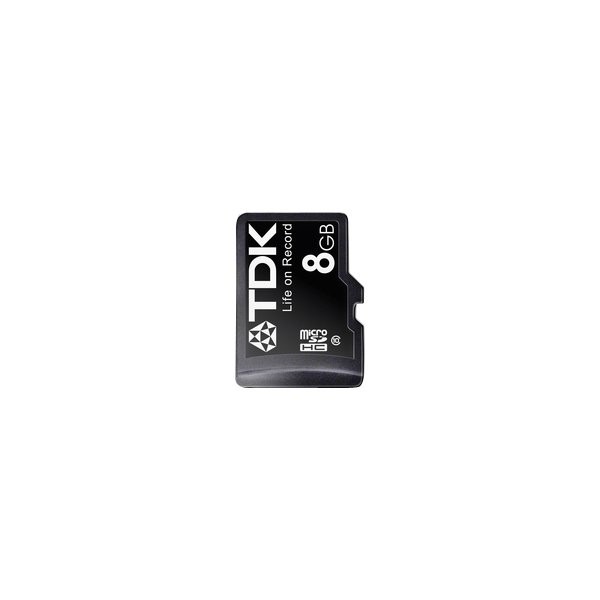 Flash memory card TDK - MicroSDHC Class 10 - 8 GB - t78726
