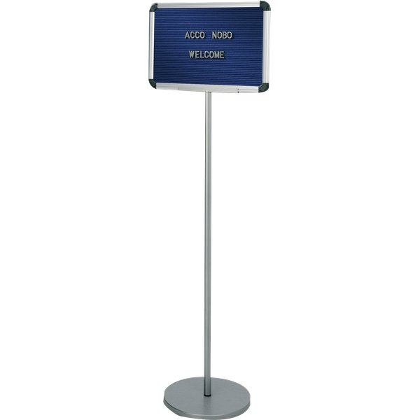 Pannello Lobby Welcome Nobo - 30x45 cm - h:137 cm - 1901959