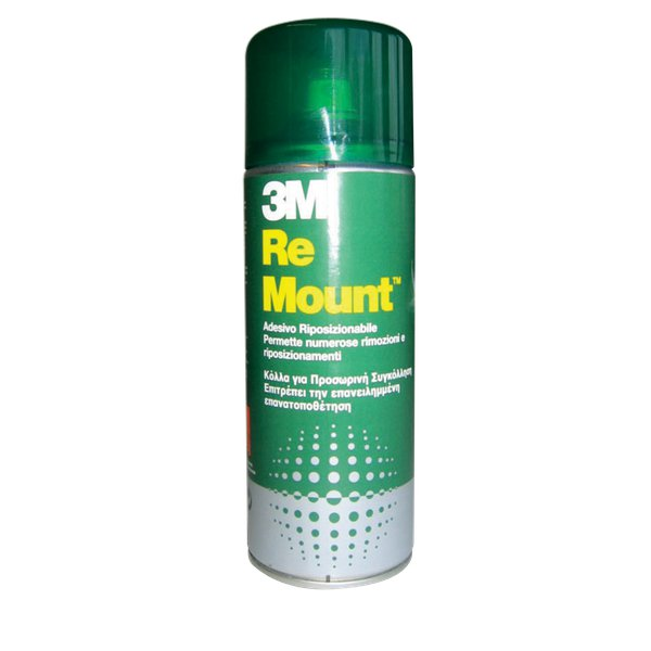 Adesivo spray ReMount™ 3M - 400 ml - Photo Mount