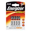 Pile Energizer Ultra+ - ministilo - AAA - 1,5 V - 635157 (conf.4)