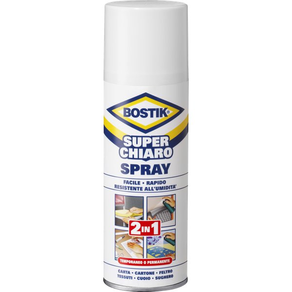 Superchiaro Spray 2in1 Bostik - 500 ml - D2250