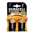 Pile Duracell Plus - torcia - D - 1,5 V - MN1300B2 (conf.2)