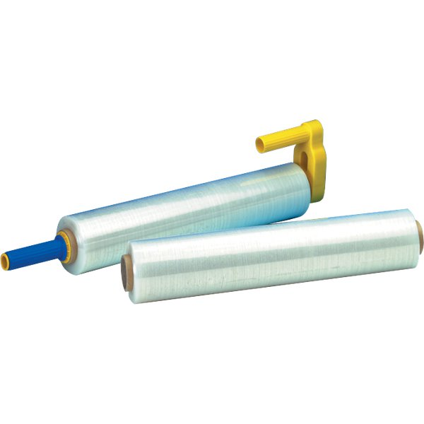Dispenser per film estensibile Syrom - 50 cm - giallo/blu - 7695