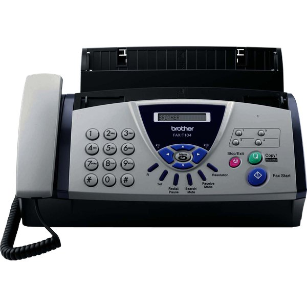 Fax a trasferimento termico FAXT104 Brother - FAXT104