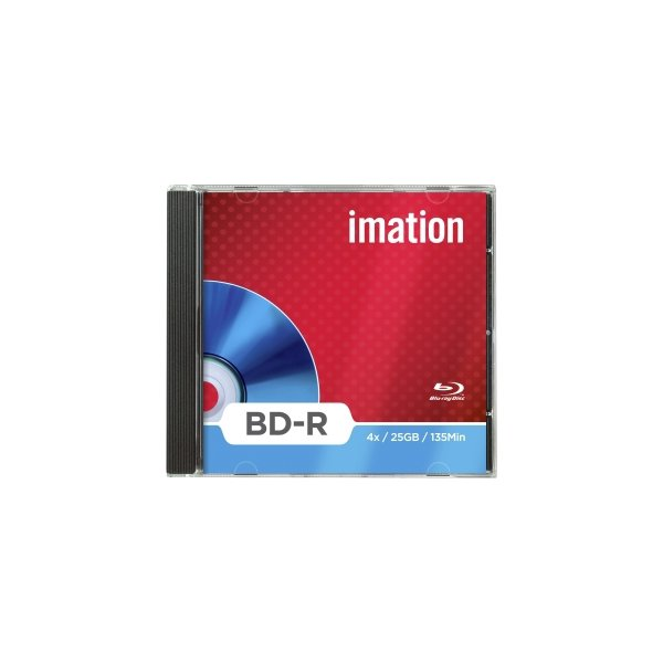 CD Imation - Single Layer - 25 GB - Blue Ray BD-R - 4x - i19989 (Conf.5)
