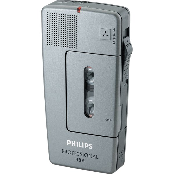 Pocket Memo Analogici Philips - Argento - LFH 488