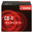 CD Imation  - CD-R - 700 Mb - 52x - Jewel case - i18644 (conf.10)