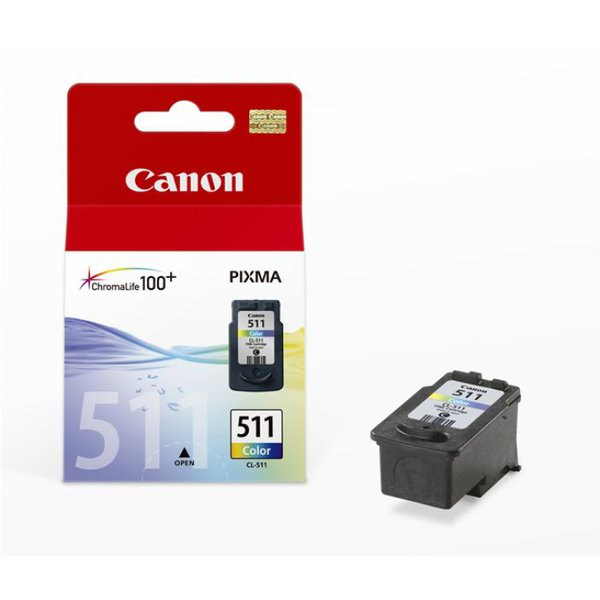 Originale Canon 2972B001 Cartuccia inkjet Chromalife 100+ CL-511 colore
